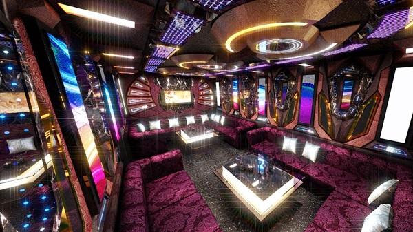 Mẫu phòng karaoke hiện đại MS 25