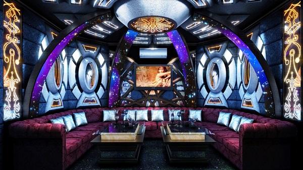 Phòng karaoke hiện đại MS 38