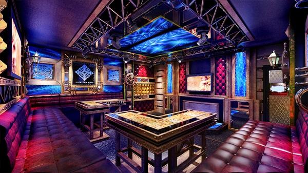 Phòng karaoke phong cách sắt MS 01