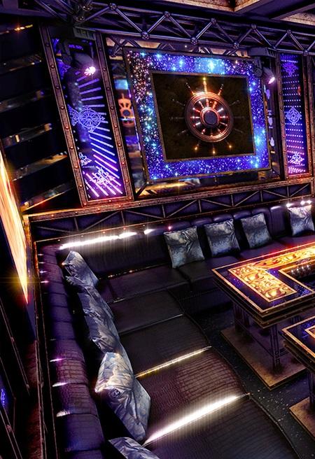 Phòng karaoke phong cách sắt MS 02