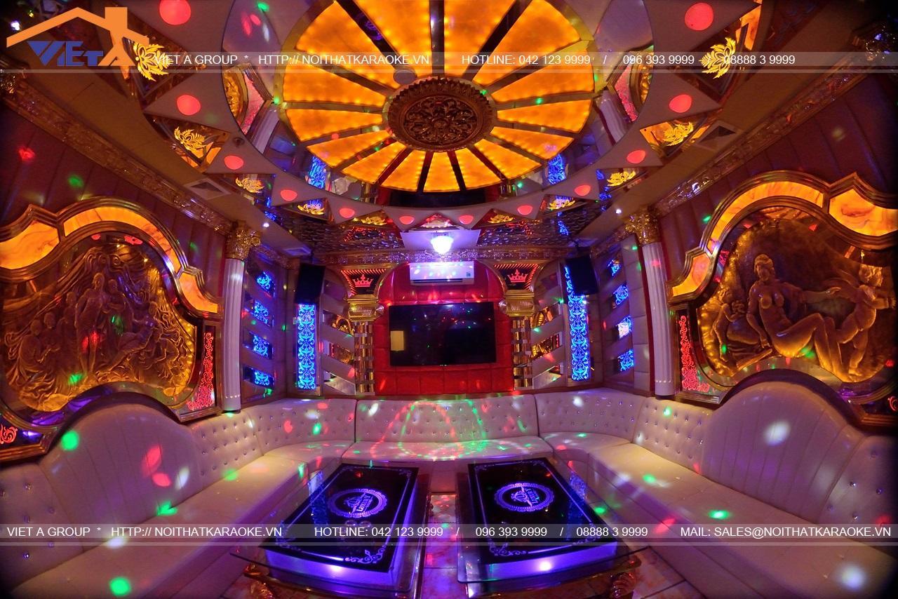 Phòng Vip 3 ảnh thực tế karaoke Huy Anh