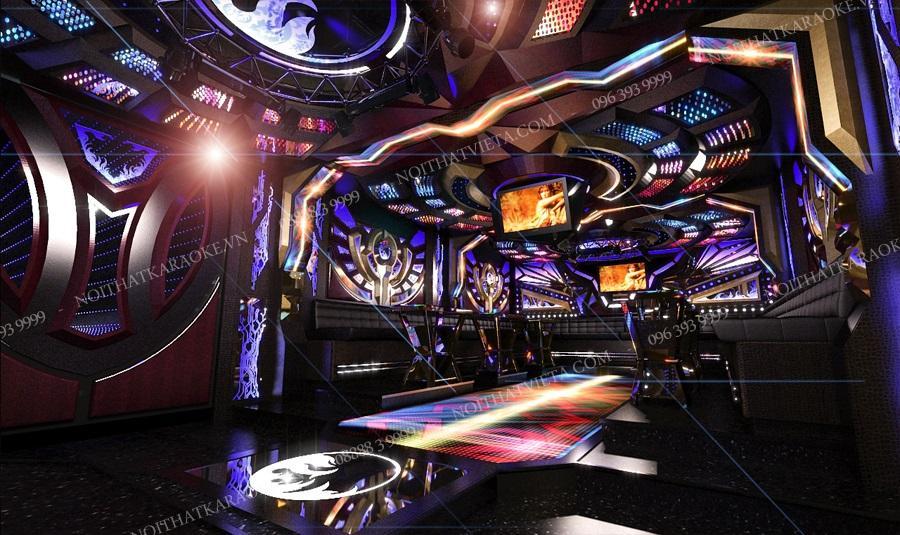 karaoke phong cach mini bar