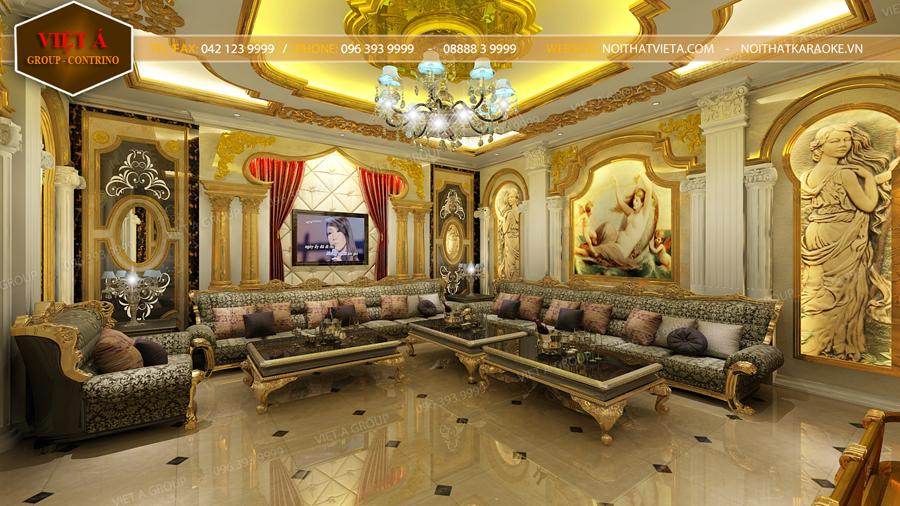 Thiet Ke Phong Karaoke Luxury  V029 900