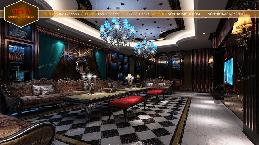 Thiet Ke Phong Karaoke Luxury  V020