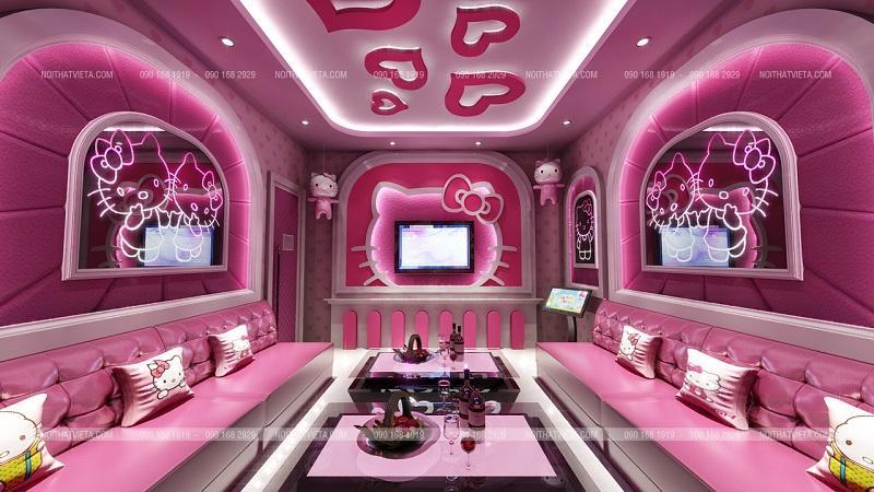 Karaoke theo phong cách Hello Kitty