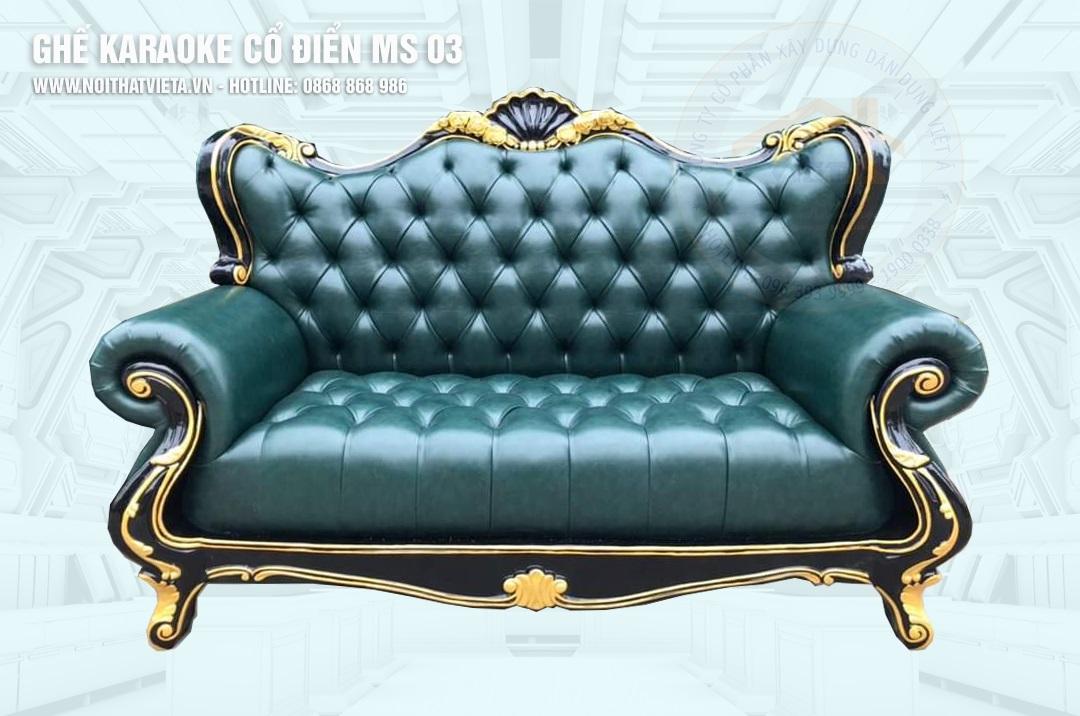 Ghế sofa karaoke MS 03