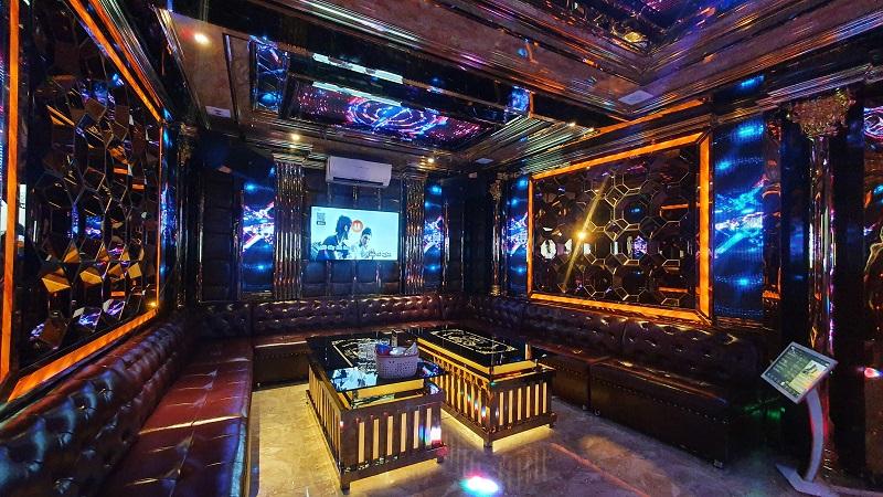 nội thất phòng hát tại karaoke Phươc Hải