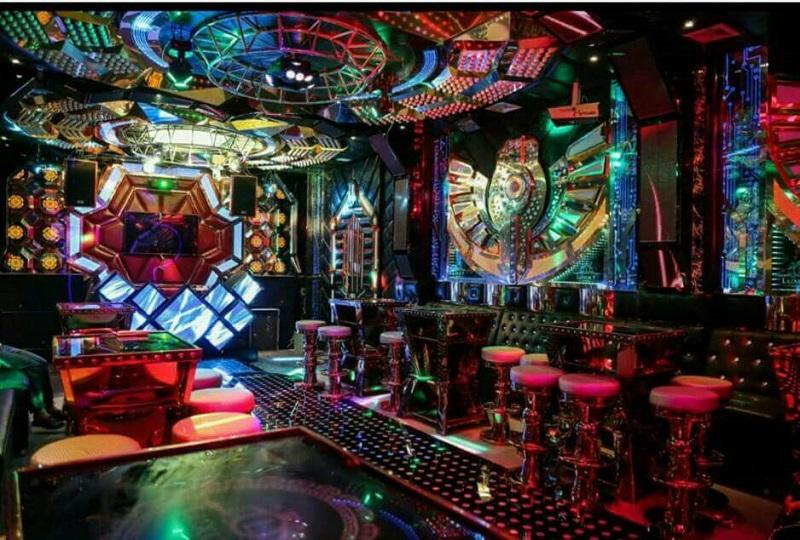 Phòng bar vip karaoke paris by night