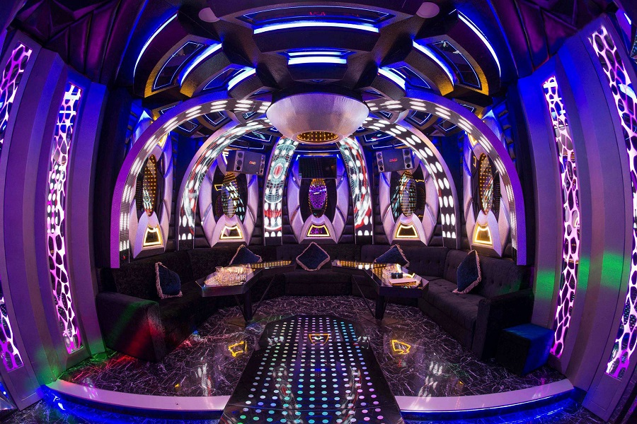 Phòng 11 karaoke Sắc Mầu