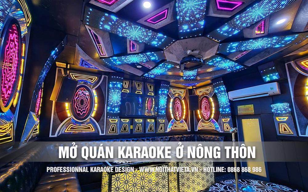 Tư vấn mở quán karaoke ở nông thôn