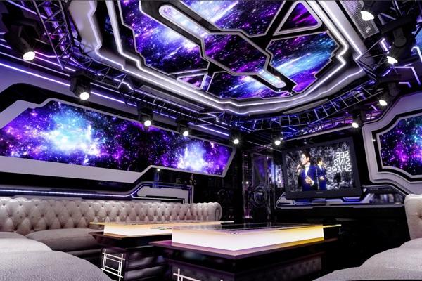 Phòng karaoke phong cách hiện đại