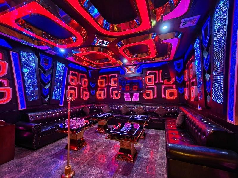 Phòng karaoke bình dân ấn tượng