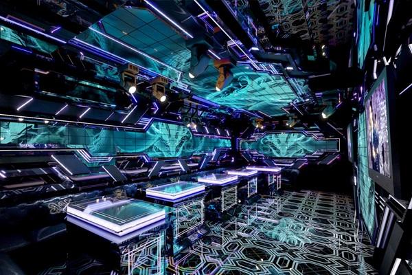 Phòng karaoke phong cách mini bar