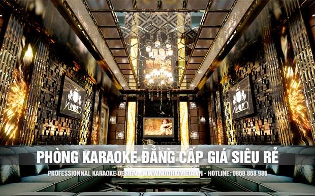 Phòng karaoke đẳng cấp giá siêu rẻ